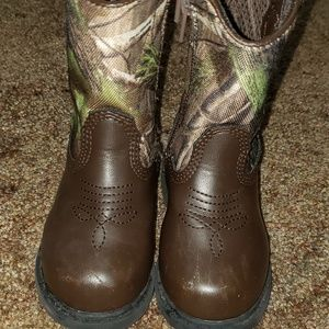 Team Realtree Boots
